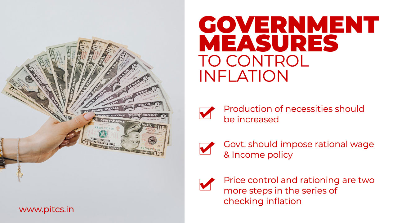 Govt measures to control inflation