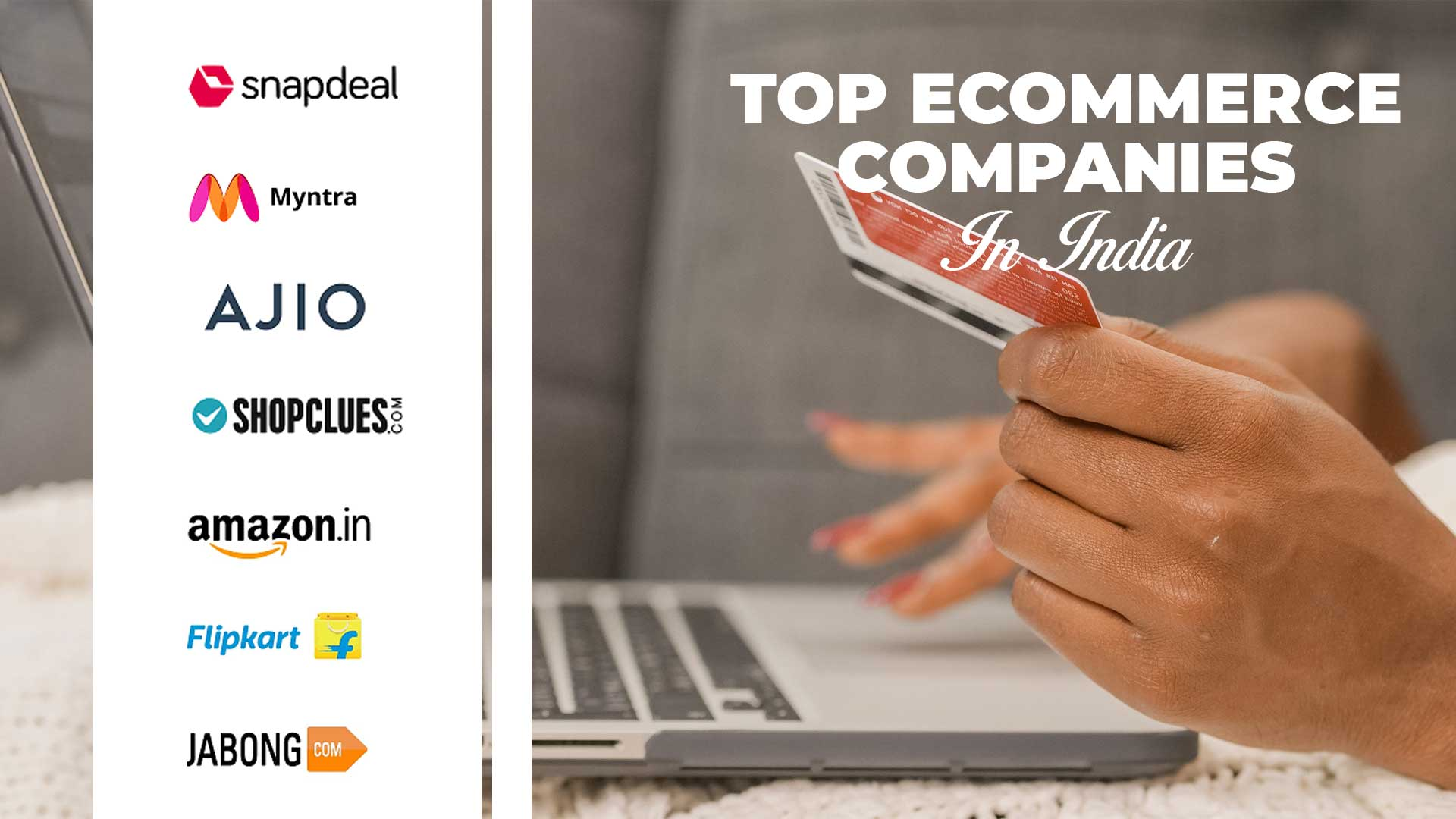 Evolution of Ecommerce in india & major ecommerce players